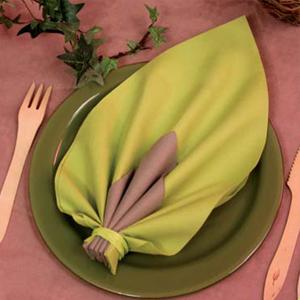 pliage de serviette la feuille blog jour de f te. Black Bedroom Furniture Sets. Home Design Ideas