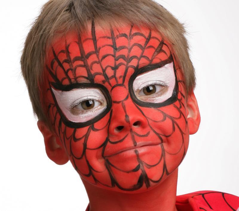 Tutoriel Maquillage De Spiderman Blog Jour De F 234 Teblog
