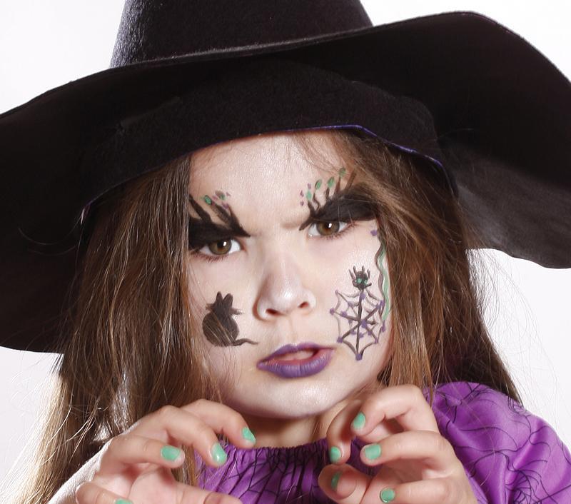 Tutoriel  Maquillage d\u0027Halloween Sorcière, Maquillage de