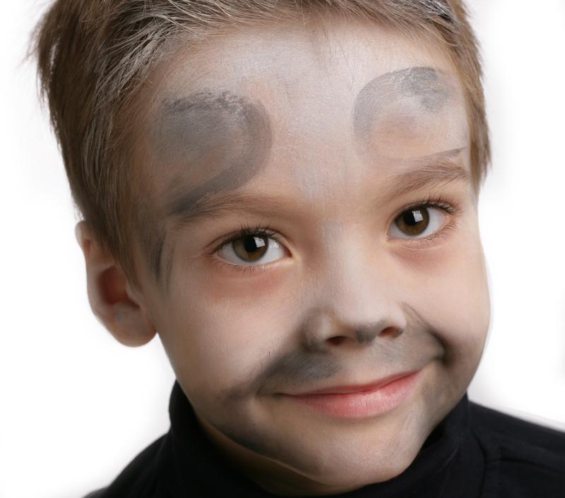 Tutoriel maquillage de squelette blog jour de f te - Maquillage blanc visage ...