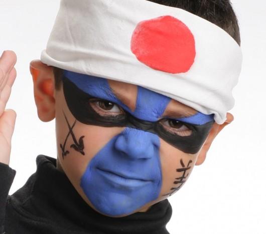 maquillage de ninja