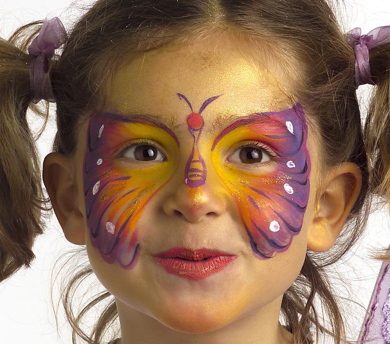 Maquillage carnaval fillette - Maquillage sorciere fillette ...