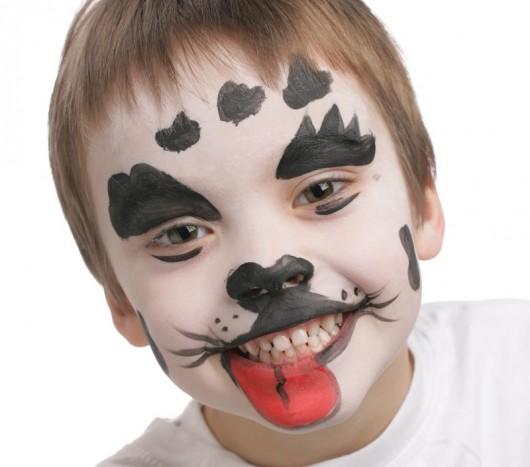 maquillage dalmatien étape 3