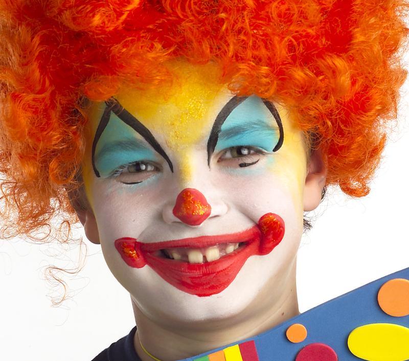 tutoriel maquillage de clown blog jour de f teblog jour de f te. Black Bedroom Furniture Sets. Home Design Ideas
