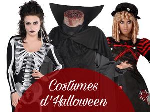 idées costumes Halloween 2016