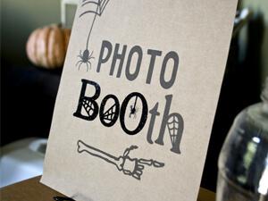 5 photobooth pour Halloween