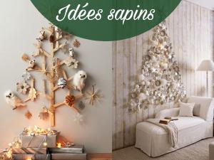 Idées de sapins originaux pour Noël