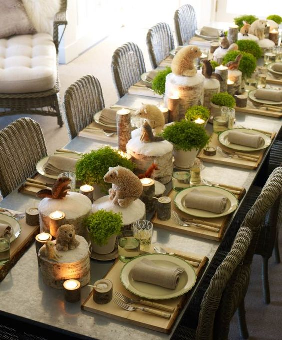 les plus belles tables de no l blog jour de f te. Black Bedroom Furniture Sets. Home Design Ideas