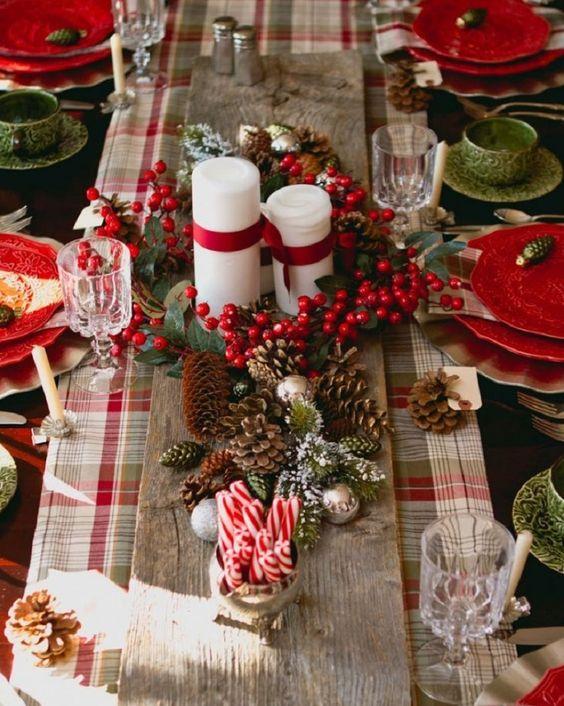 Les plus belles decorations de table pour noel