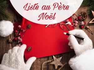 Notre liste au Père Noël