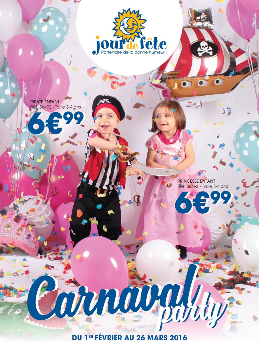 Catalogue Carnaval 2016 Jour de Fête