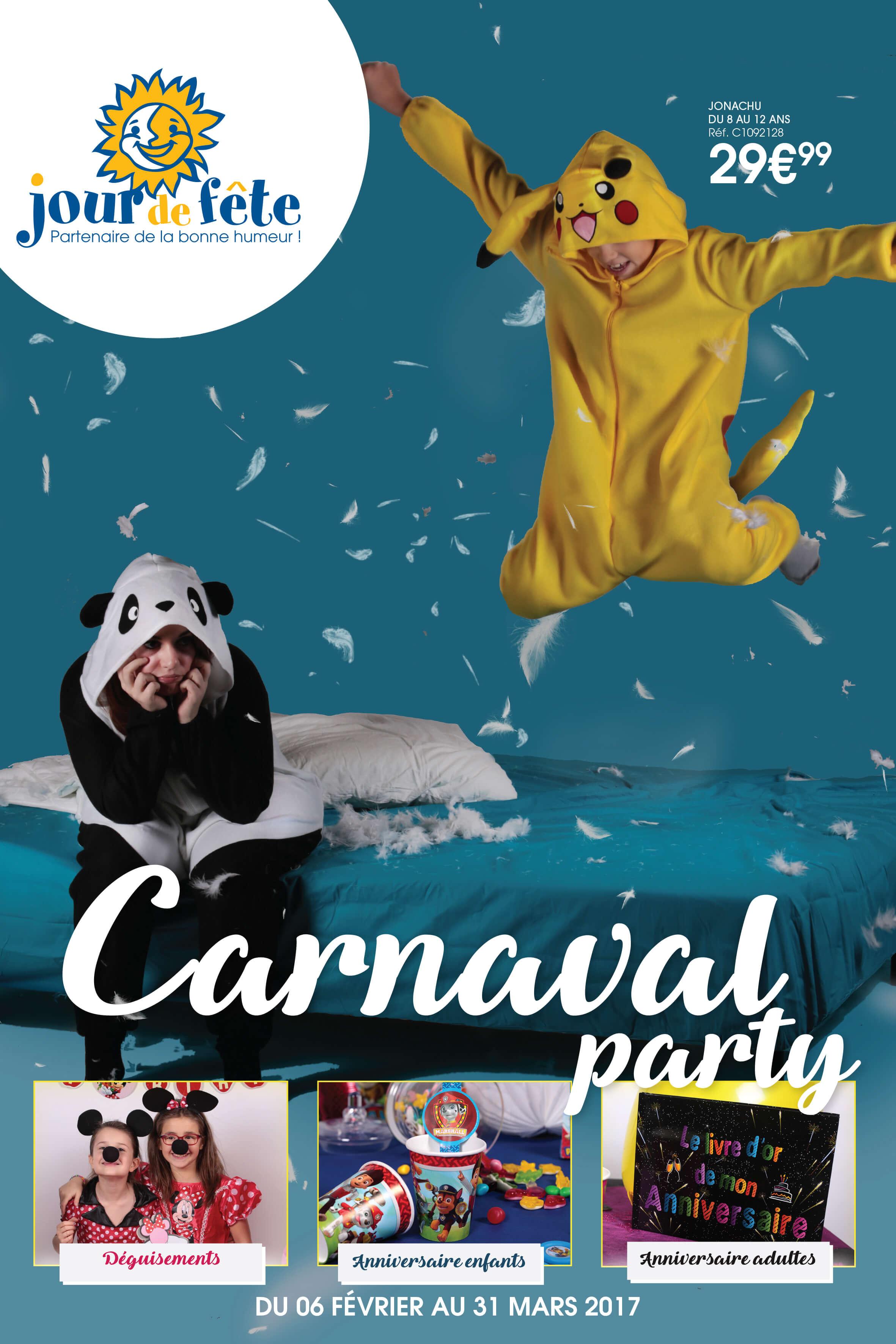 Catalogue Jour de Fête Carnaval 2017