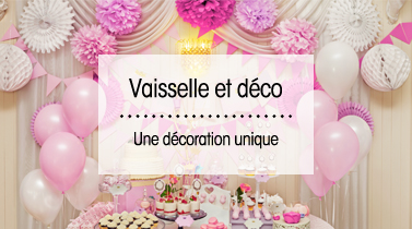 Vaisselle et décoration