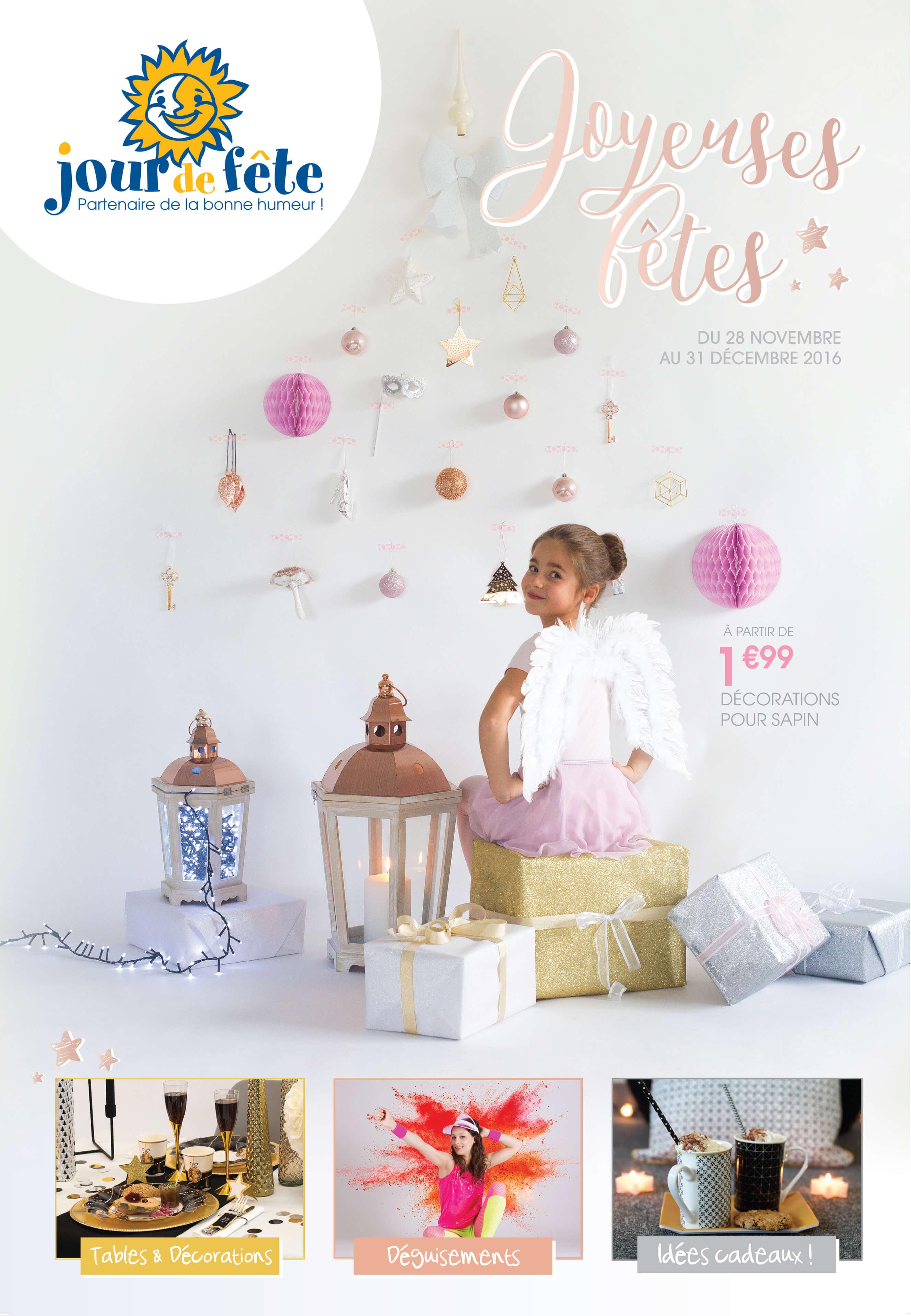 Catalogue Jour de Fête Noel 2016