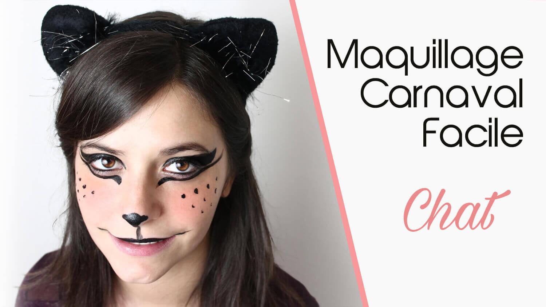 tuto vidéo maquillage facile Chat